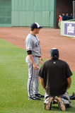 Starting pitcher #44 Jake Peavy Royalty Free Stock Photo