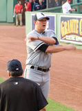 Starting pitcher #44 Jake Peavy Stock Photos