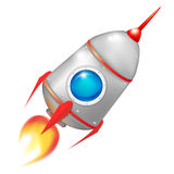 Starting rocket Royalty Free Stock Photo
