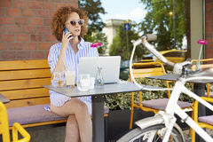 Starting your day at coffee shop Stock Photo