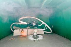 startknapp för elektrisk brand Royaltyfria Foton