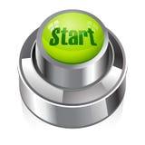 Startknopf Lizenzfreies Stockfoto