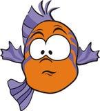 Startled fish Stock Image