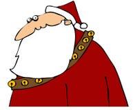 Startled Santa Royalty Free Stock Photos