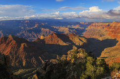 Startling view of Grand Canyon from South Rim, Arizona, US Stock Photos
