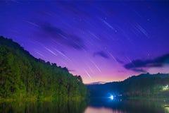 Startrail Images libres de droits