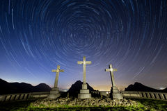 Startrail Royalty Free Stock Images
