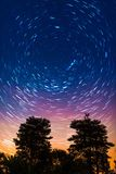 Startrail Royalty Free Stock Image