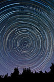 Startrails images stock