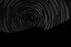 Startrails Royalty Free Stock Images