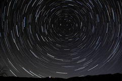 Startrails Royalty Free Stock Photos