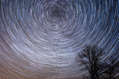 Startrails Stockfotos