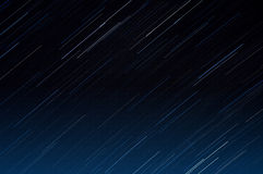 Startrails. Beautiful startrails picture without any landscape in front of it, so you can use it on your projects Royalty Free Stock Image