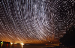Startrails Royalty Free Stock Photo