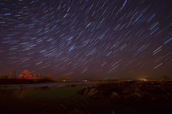 Startrails Royalty Free Stock Image