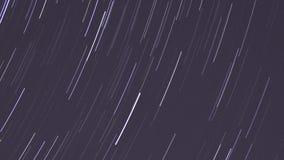 Startrails. Night star timelapse astronomy stock video