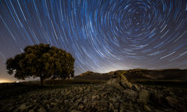 Startrails Royalty Free Stock Photography