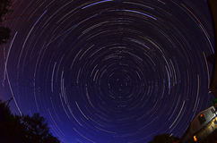 The startrails Royalty Free Stock Image