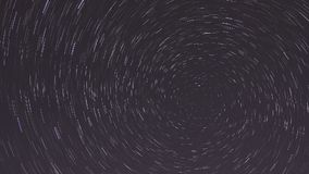 Startrails. Night star timelapse astronomy stock video footage