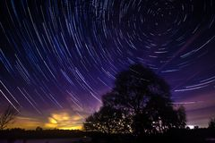 Startrails Stock Photography