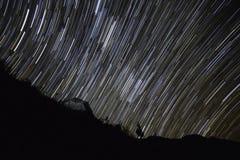 Startraits en las colinas de Mishmi fotografía de archivo libre de regalías