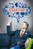 Startup дело Стоковая Фотография