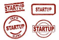 Startup комплект штемпеля чернил Стоковые Фото