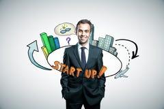 Startup концепция Стоковая Фотография RF