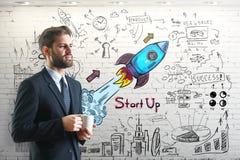 Startup концепция Стоковые Изображения RF