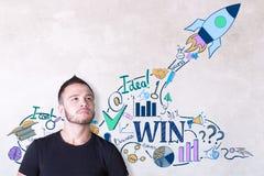 Startup концепция Стоковое Изображение RF