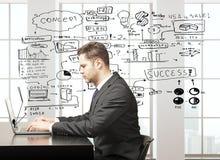 Startup концепция Стоковое Фото