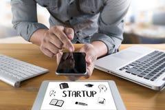 Startup новое решение начала для целей начинает ваша жизнь жизни Стоковые Фото