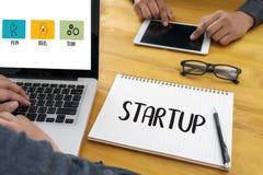 Startup новое решение начала для целей начинает ваша жизнь жизни Стоковая Фотография