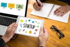 Startup новое решение начала для целей начинает ваша жизнь жизни Стоковое Фото