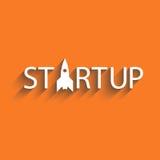 Startup новые проект дела или идея, предпосылка представления Стоковые Изображения