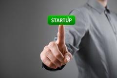 Startup принципиальная схема дела Стоковые Изображения RF