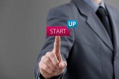 Startup принципиальная схема дела Стоковое Изображение RF