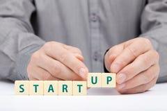 Startup affärsidé Arkivfoto