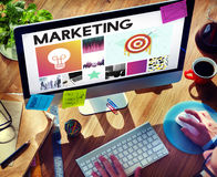 Startup Brand Marketing Vision Concept Stock Photo