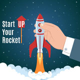 Startup Business Concept Stock Image
