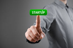 Startup business concept Royalty Free Stock Images