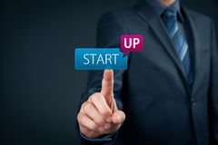Startup business concept royalty free stock photos