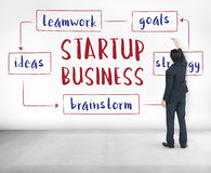 Startup Business Entrepreneurship Ideas Concept royalty free stock photo