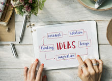 Startup Business Ideas Plan Concept Royalty Free Stock Image