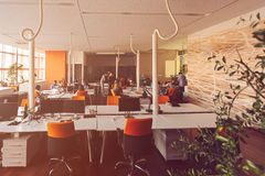 Startup business people group working everyday job at modern office.  Stock Photo