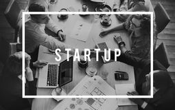 Startup Business Together Plan Development Concept Royalty Free Stock Images