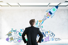 Startup concept Stock Images