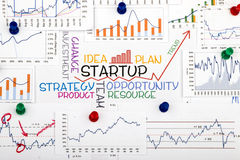 Startup concept Royalty Free Stock Image