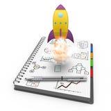 Startup concept Stock Photos