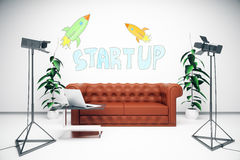 Startup concept Royalty Free Stock Photo